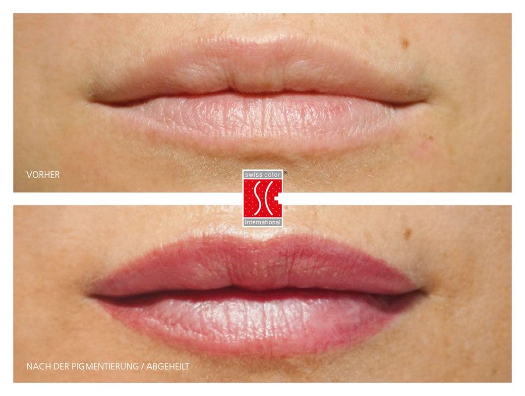 Permanent Make up Lippen